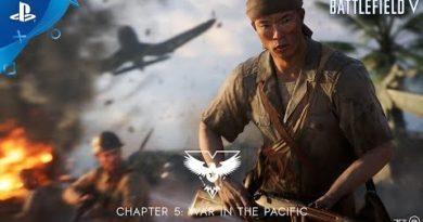 Battlefield V - Wake Island Overview Trailer | PS4