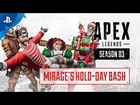 Apex Legends – Holo-Day Bash Event Trailer | PS4
