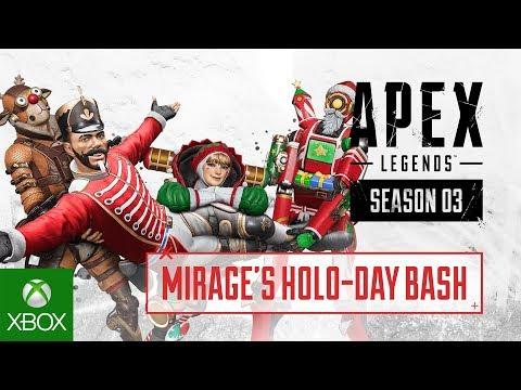 Apex Legends – Holo-Day Bash Event Trailer