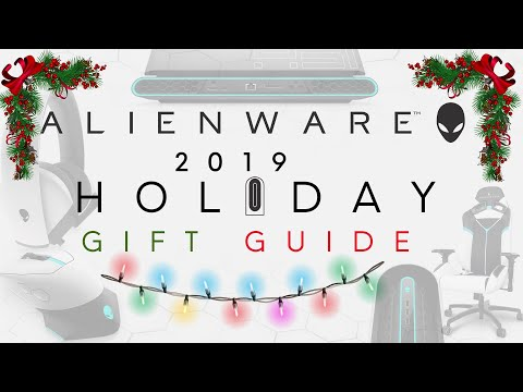 Alienware 2019 Holiday Gift Guide