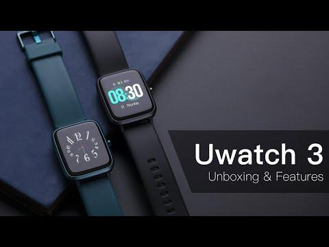 UMIDIGI Uwatch3: Unboxing Your Fashionable Fitness Companion