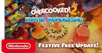 Overcooked! 2 - Winter Wonderland Launch Trailer - Nintendo Switch
