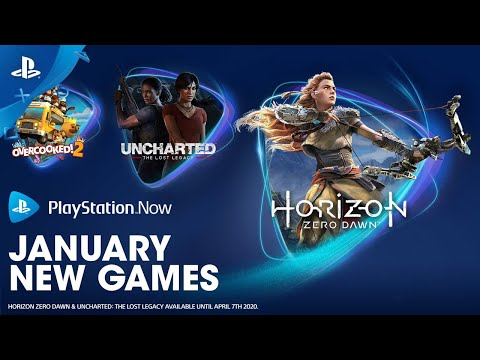 PlayStation Now - January New Games   PS4