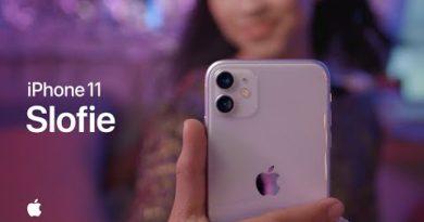 Slofie on iPhone 11 — Apple