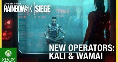 Rainbow Six Siege: Operation Shifting Tides – Kali & Wamai Trailer   Ubisoft [NA]