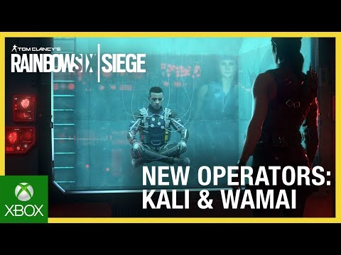 Rainbow Six Siege: Operation Shifting Tides – Kali & Wamai Trailer | Ubisoft [NA]