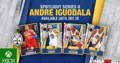 NBA 2K20 MyTEAM: Andre Iguodala Spotlight Pack