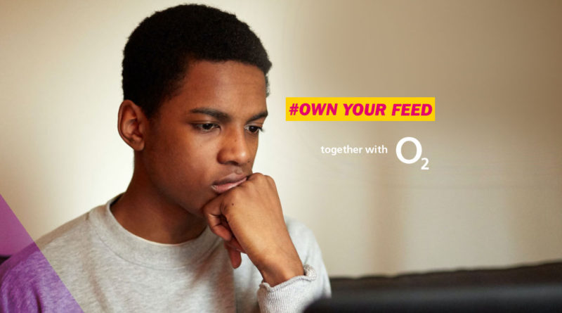 #OwnYourFeed: YoungMinds and O2 encourage young people to take control of their online feeds and make social media a positive place to be