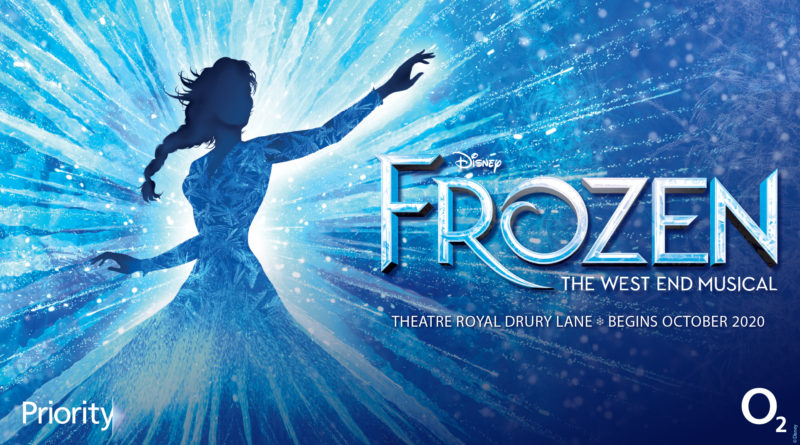 Frozen The Musical pre-sale tickets available exclusively for O2 customers via Priority from Monday