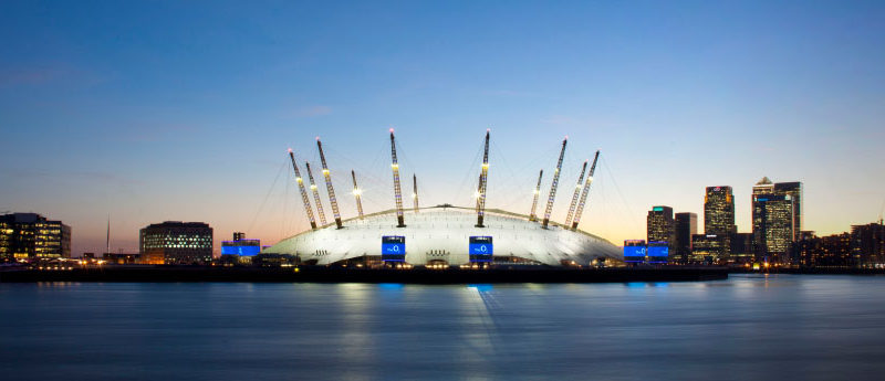 O2 offering Blue Ticket for one lucky winner to see all events at The O2 for one year