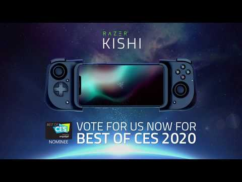 Razer Kishi | Mobile & Cloud Gaming Controller for iOS/Android