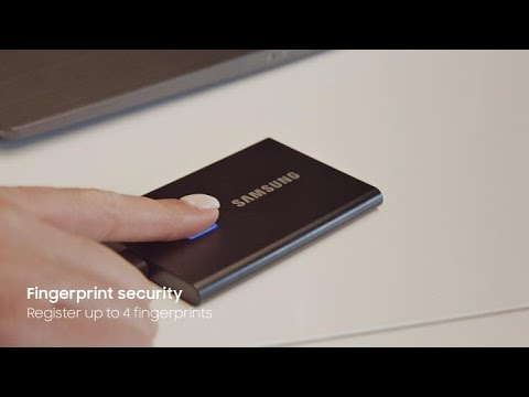 Portable SSD T7 Touch: At work | Samsung