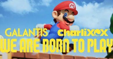SUPER NINTENDO WORLD™ JAPAN: Galantis ft. Charli XCX - WE ARE BORN TO PLAY (Music Video)