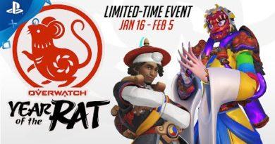 Overwatch - Lunar New Year 2020   PS4
