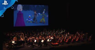 """KINGDOM HEARTS III Re Mind - """"A Frozen Fracas"""" Orchestra Concert Sneak Peek   PS4"""