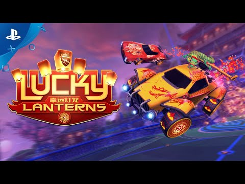 Rocket League - Lucky Lanterns Trailer   PS4
