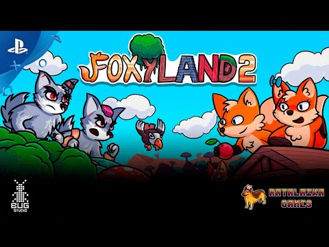 FoxyLad 2 - Launch Trailer | PS4, PS Vita