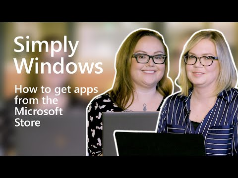 Windows | How to get apps from the Microsoft Store