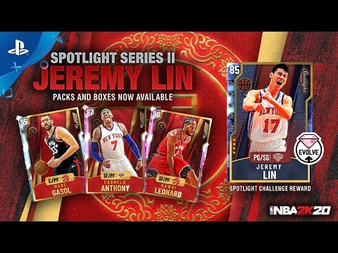 NBA 2K20 MyTEAM -  Jeremy Lin Spotlight Series II | PS4