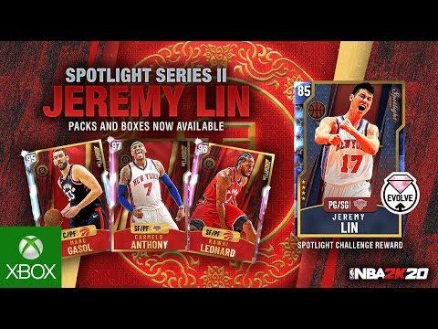 NBA 2K20 MyTEAM: Jeremy Lin Spotlight Series II
