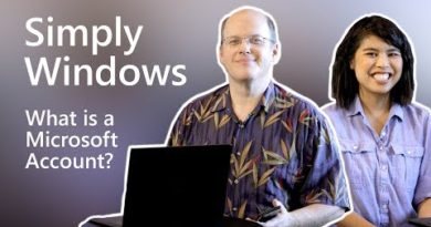 Windows | What is a Microsoft account?
