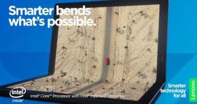 This is ThinkPad X1 Fold