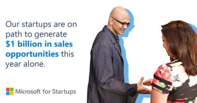 Microsoft for Startups unlocks $1 billion in sales opportunities for B2B startups; adds GitHub and Microsoft Power Platform