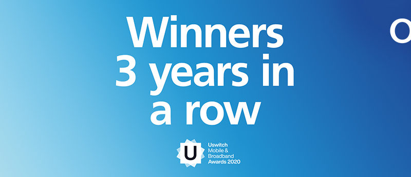 uSwitch crowns O2 as UK's Best Network for third year running