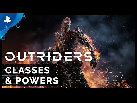 Outriders - Classes and Powers | PS5, PS4