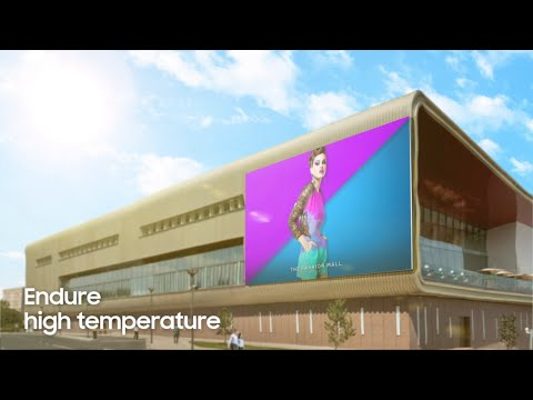 Outdoor LED Signage: Proven visuals. Built to perform. | Samsung