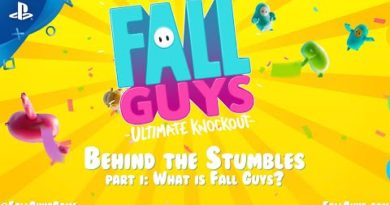 Fall Guys - Behind the Stumbles Part I   PS4