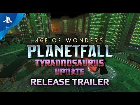 Age of Wonders: Planetfall - Tyrannosaurus Update | PS4