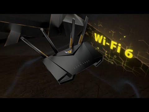 TUF Gaming AX3000 Wi-Fi 6 Gaming Router   ASUS