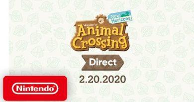 Animal Crossing: New Horizons Direct 2.20.2020