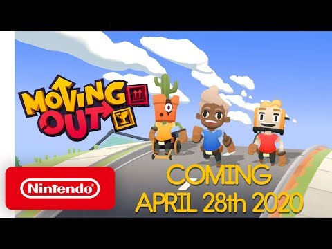 Moving Out - Release Date Announcement - Nintendo Switch
