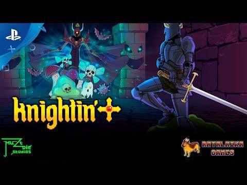 Knightin'+ - Launch Trailer   PS4, PS Vita
