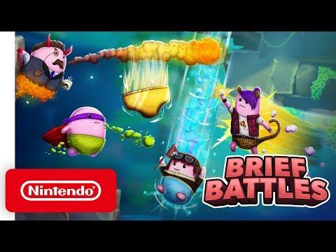 Brief Battles - Launch Trailer - Nintendo Switch