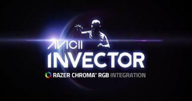 Razer Chroma RGB Integration   AVICII Invector