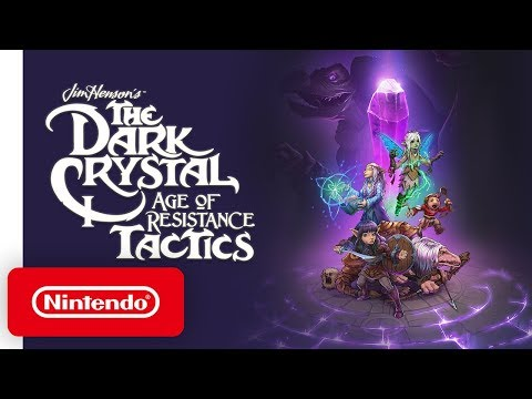 The Dark Crystal: Age of Resistance Tactics - Launch Trailer - Nintendo Switch