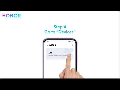 How to Bluetooth connected with your smartphone - #HONORMagicWatch2