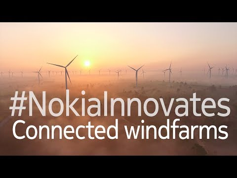 Nokia innovations enabling cost-saving benefits for windfarm operators