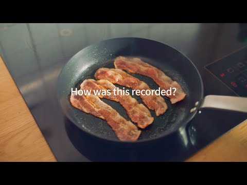 LG V60 ThinQ 5G ASMR: Bacon