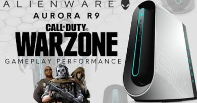 Aurora R9 - Call of Duty: WARZONE Gameplay Performance w/ Ray Tracing