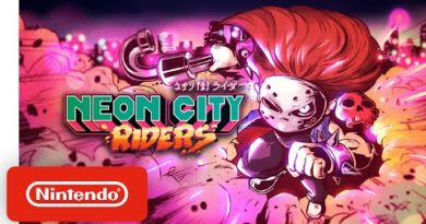 Neon City Riders - Launch Trailer - Nintendo Switch
