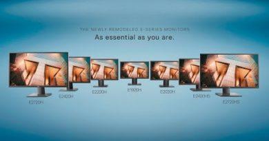 Os monitores recém-remodelados da Série E da Dell