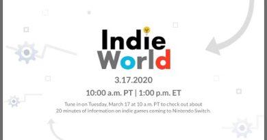 Nintendo Switch - Indie World Showcase 3.17.2020
