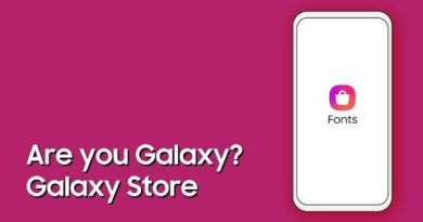 Galaxy Store: Are you Galaxy? Style up Your Galaxy with Fonts!ㅣSamsung
