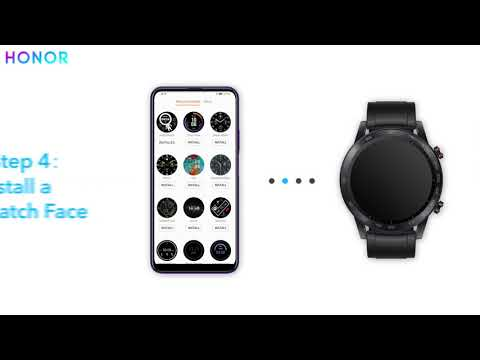 How to change your #HONORMagicWatch2 watch faces easily!?