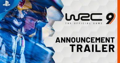 WRC 9 FIA World Rally Championship - Announcement Trailer   PS4, PS5