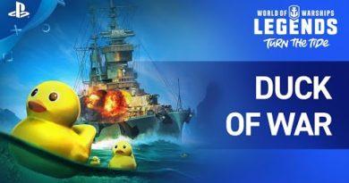World of Warships: Legends - Duck of War Trailer | PS4